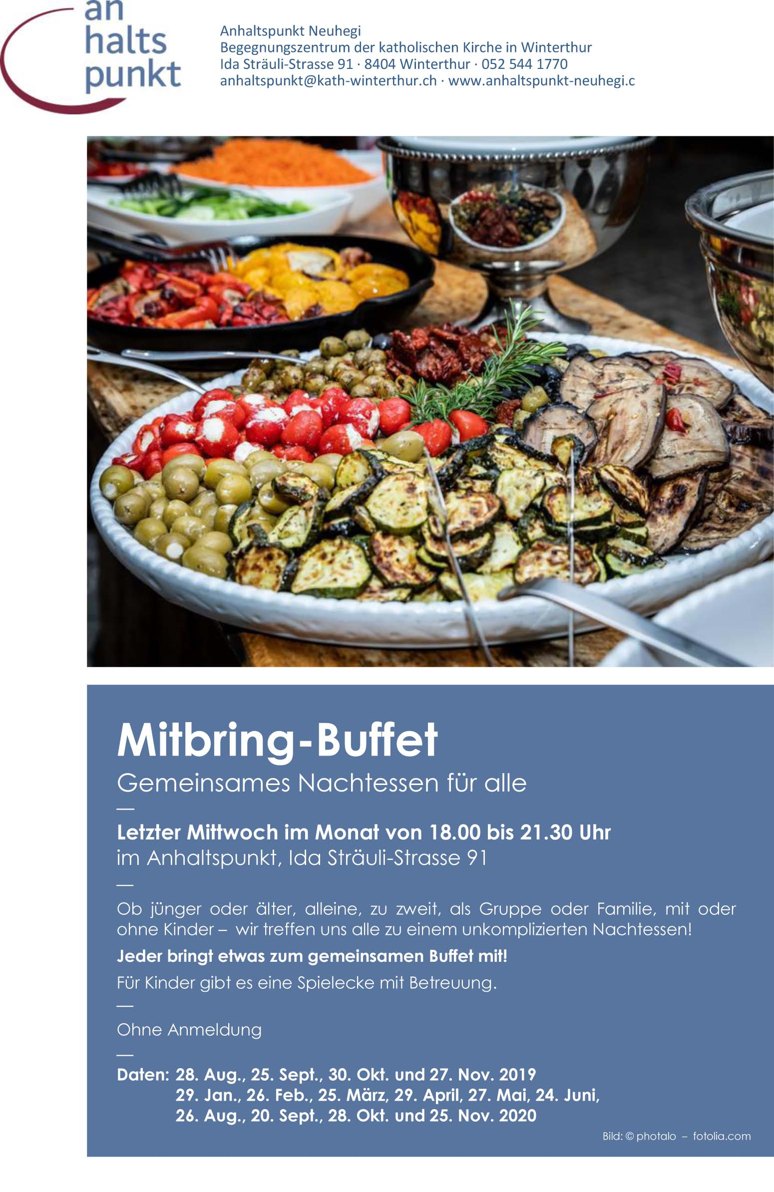 agh Mitbring Buffet 19 20