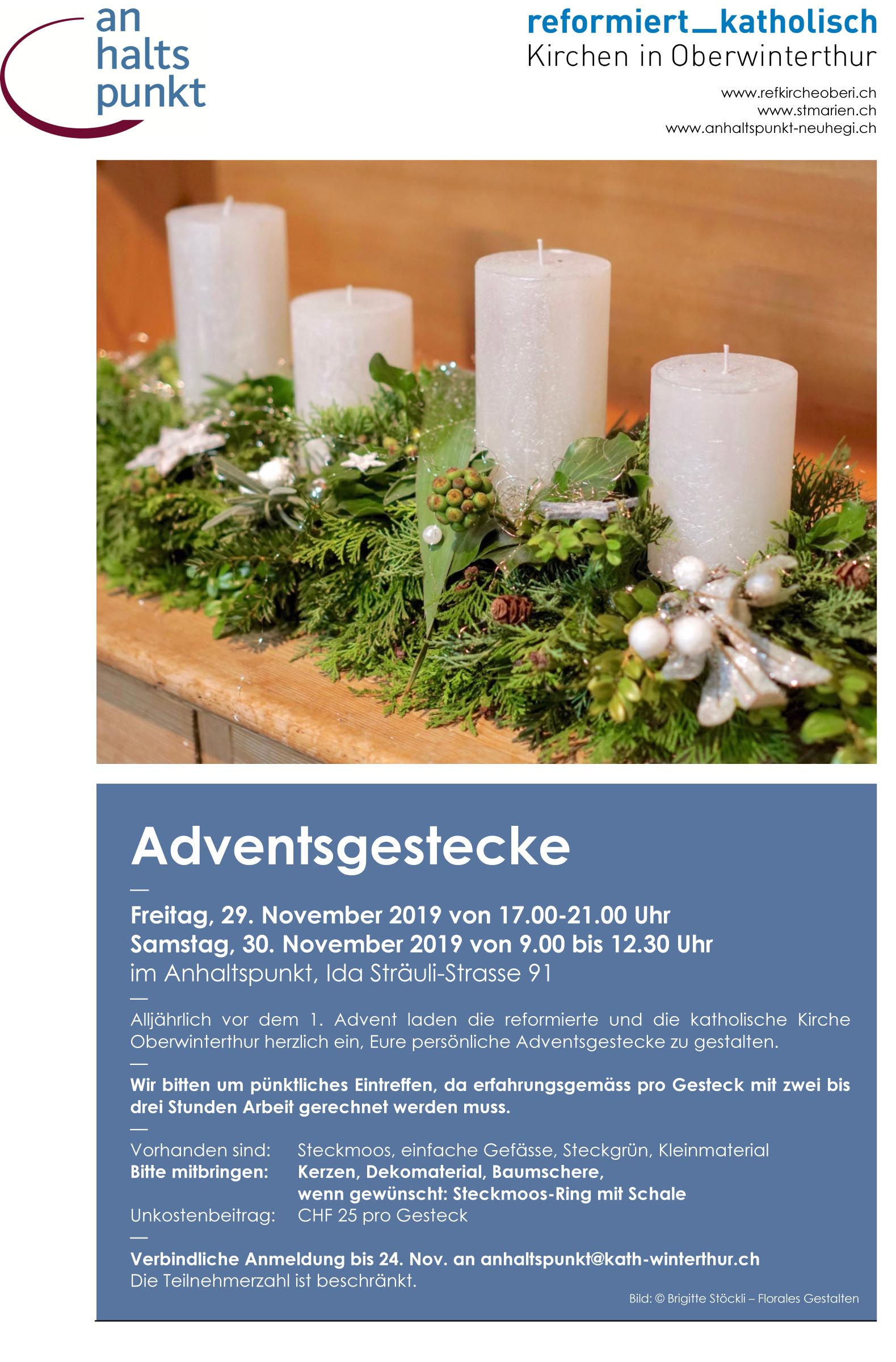 ahp Adventsgestecke 2019
